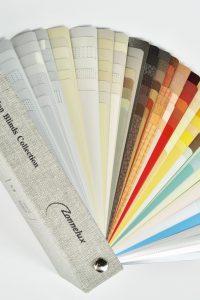 zonnelux-aluminium jaloezie-kleurenwaaier-big
