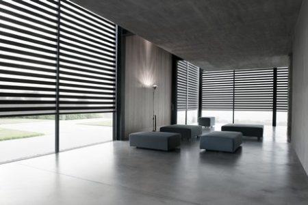zonnelux-facetlight zwart -woonkamer