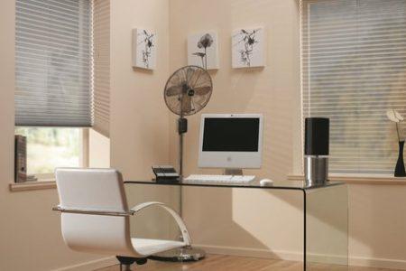 zonnelux-plisse-kantoor sfeer (1)